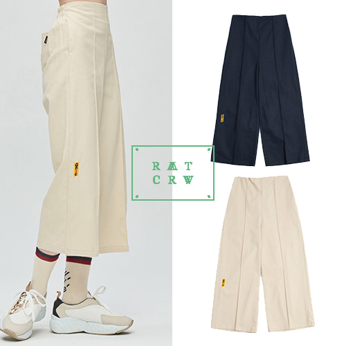 [ROMANTIC CROWN WOMAN] GNAC COTTON PANTALON 2COLOR