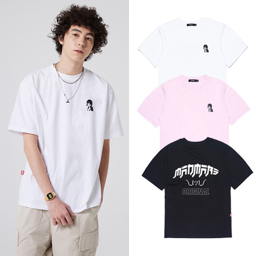 [MADMARS] JAPANESE ORIGINAL CARTOON T-SHIRT 3COLOR