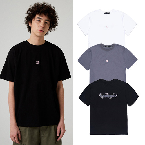 [MADMARS] CHERRY BLOSSOM T -SHIRT 3COLOR