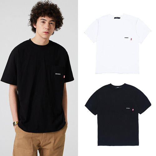 [MADMARS] NORMAL POKET T-SHIRT 2COLOR