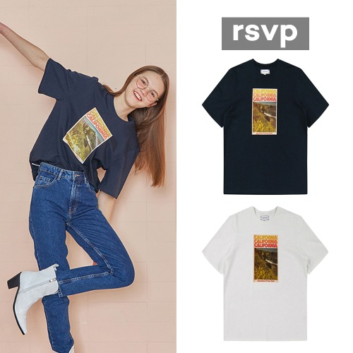 [RSVP]CALIFORNIA LOOSE FIT T-SHIRT 2COLOR