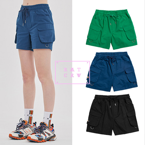 [ROMANTICCROWN][R.C X M.G] CEREMONY ANGEL SHORTS 3COLOR