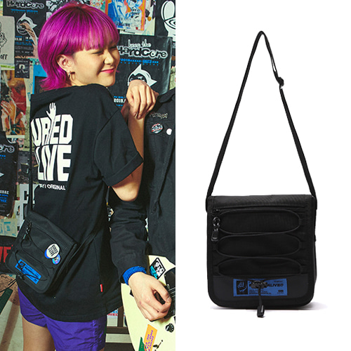 [BURIEDALIVE] BA SIDE POUCH BLACK