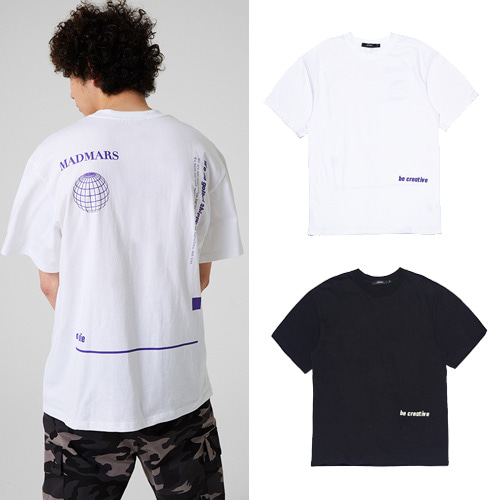 [MADMARS] GLOBAL T-SHIRT 2COLOR