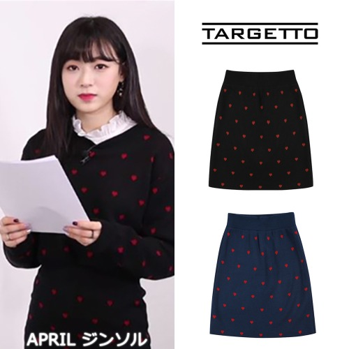 [TARGETTO] LOVERS KNIT SKIRT 2COLOR_APRIL