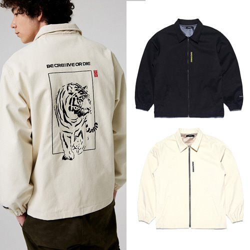 [MADMARS] TIGER EMBROIDERED JACKET 2COLOR