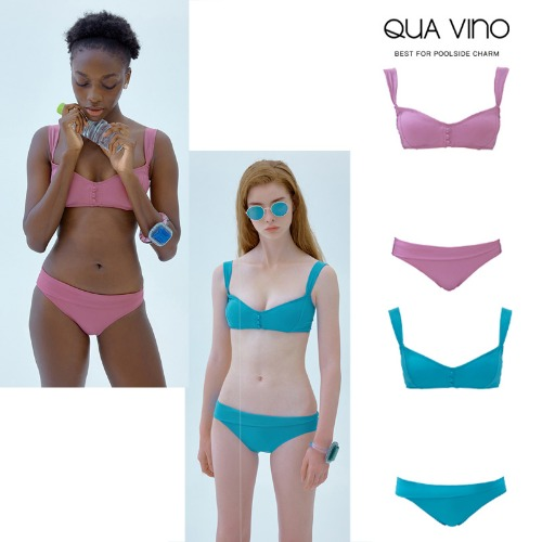 [QUA VINO] 23-year-old Hemoglobin + Unbalanced Bottom 2COLOR