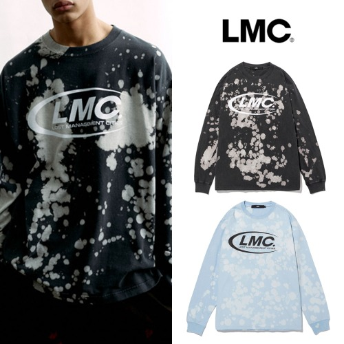 [LMC] LMC CO BLEACH LONG SLV TEE 2COLOR