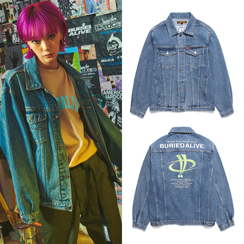 [BURIEDALIVE] BA X FLUSH DENIM JACKET
