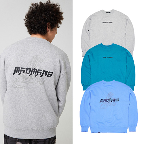 [MADMARS] JAPANESE DRAWING SWEATSHIRT 3COLOR