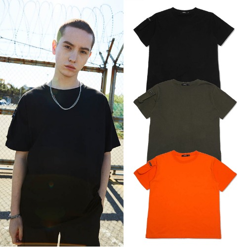 [MADMARS] POCKET POINT T-SHIRT 3COLOR