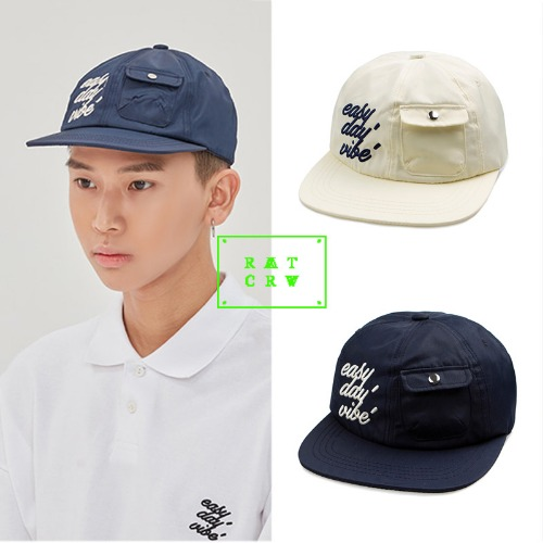 [ROMANTIC CROWN] E.D.V POCKET BALL CAP 2COLOR