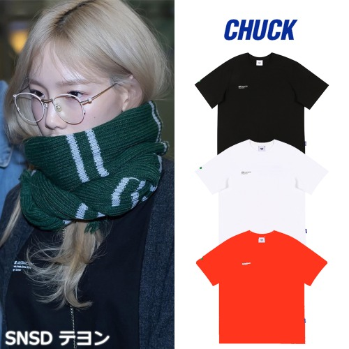 [CHUCK] 19 SPRING LABORATORY T-SHIRT 3COLOR