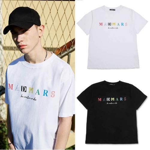 [MADMARS] COLOR LOGO T-SHIRT 2COLOR