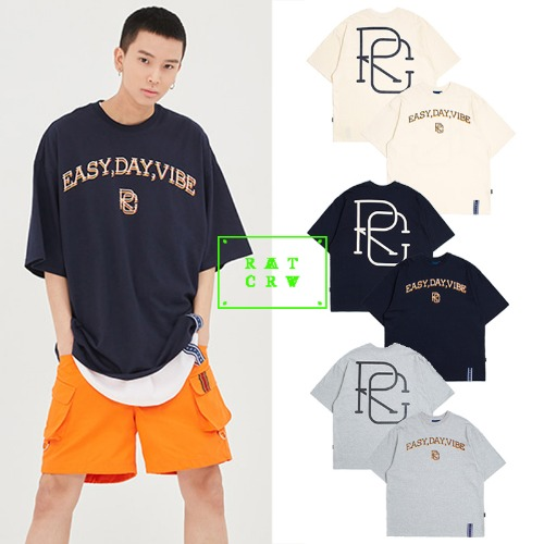 [ROMANTICCROWN] E.D.V BIG LOGO T SHIRT 3COLOR