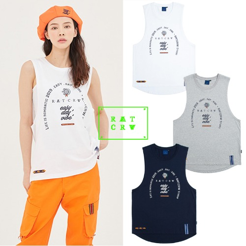 [ROMANTICCROWN] RMTCRW STUDIO SLEEVELESS 3COLOR