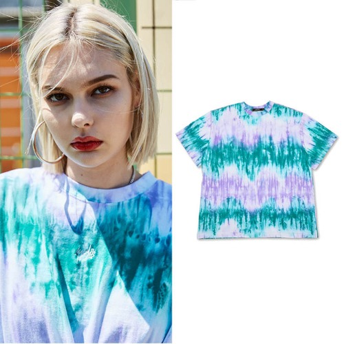 [MADMARS] AURORA T-SHIRTS AQUAGREEN