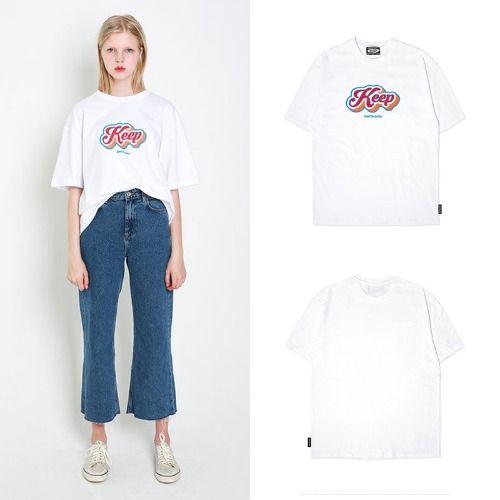 [ODDSTUDIO] KEEP LOGO T-SHIRTS