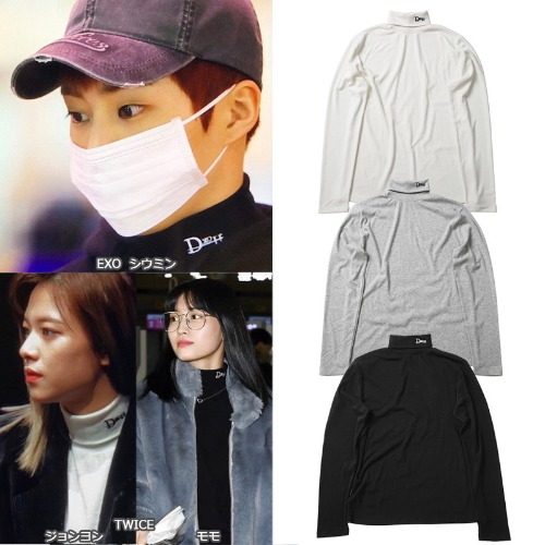 [DXOH] LOGO TURTLENECK 3COLOR_EXO_TWICE_OH MY GIRL