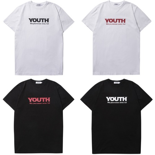 [JEUNESSE] YOUTH S/S TEE 4COLOR