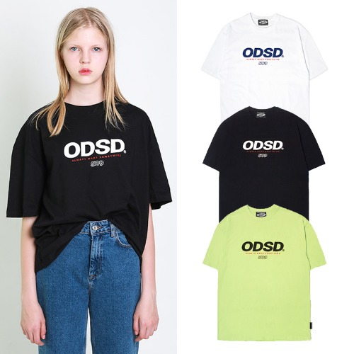 [ODDSTUDIO] ODSD LOGO T-SHIRTS 3COLOR