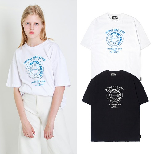 [ODDSTUDIO] ODD DOUNUT T-SHIRTS 2COLOR