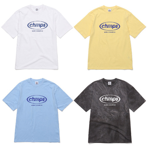 [BORNCHAMPS] CHAMPS ROUND TEE CESBMTS13 4COLOR