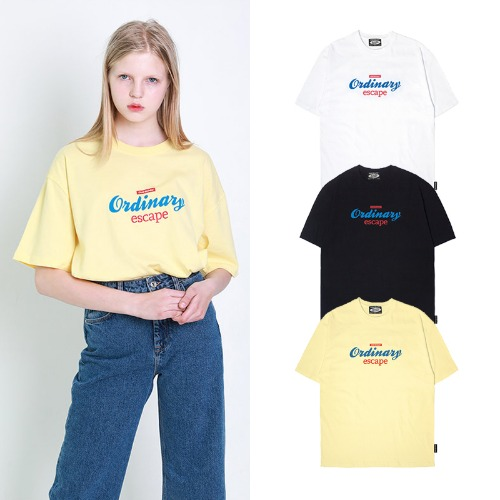 [ODDSTUDIO] ORDINARY LOGO T-SHIRTS 3COLOR