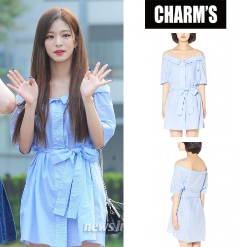 [CHARM'S] CHARMS STRIPE OPENSHOULDER OPS_FROMIS_9