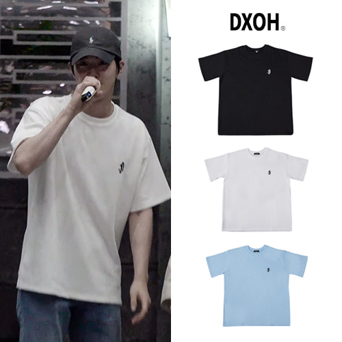 [DXOH] SMILE LOGO T-SHIRT 3COLOR_EXO_WANNAONE