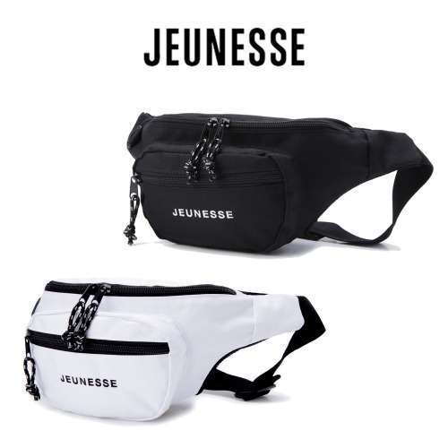 [JEUNESSE] LOGO FANNY BAG 2COLOR