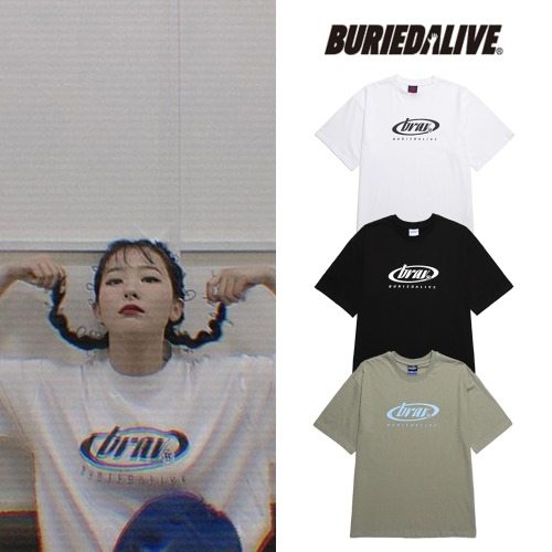 [BURIEDALIVE]BA CIRCLE LOGO TEE 3COLOR_REDVELVET
