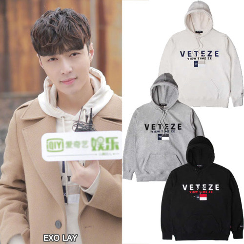 [VETEZE]BIG LOGO HOOD 3color_EXO