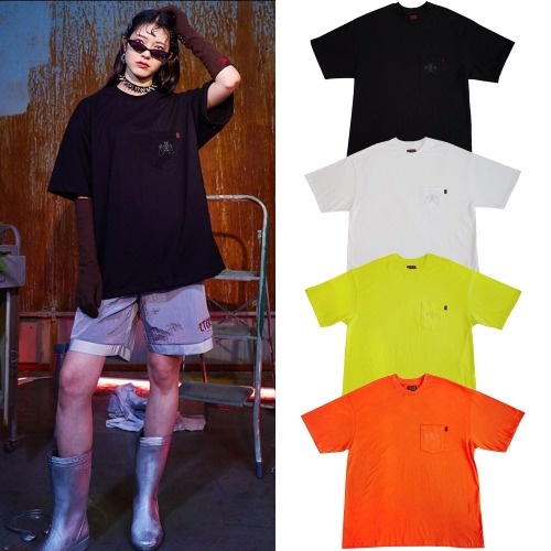 [LTCK] FUXXX2 POCKET T 4COLOR