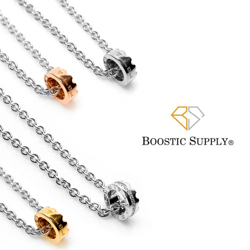 [BOOSTIC] RING NECKLACE 3COLOR