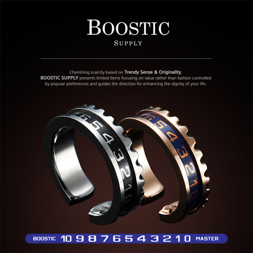 [BOOSTIC] YACHT_MASTER RING BST10 2COLOR