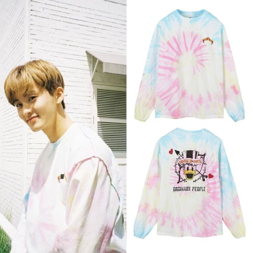 [ORDINARY PEOPLE] CUPID DONALD DUCK TIE-DYE T-SHIRT_NCT