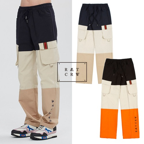 [ROMANTICCROWN] DIVISION CARGO PANTS 2COLOR