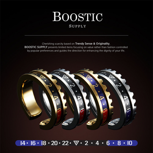 [BOOSTIC] GMT_MASTRT RING BST14 5COLOR