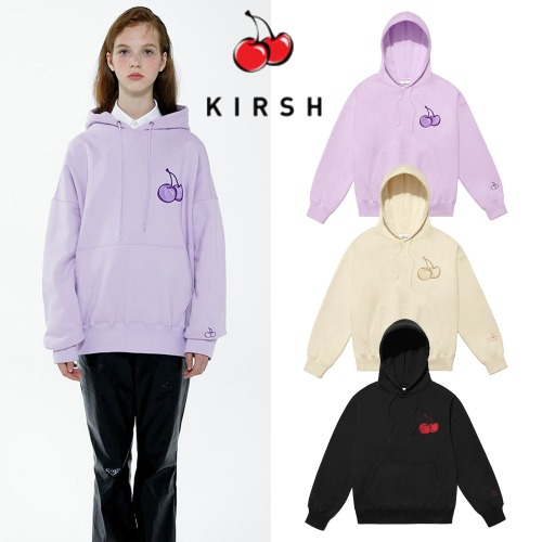 [KIRSH] CHERRY TONE ON TONE HOODIE IA 3COLOR [8/26予約配送]