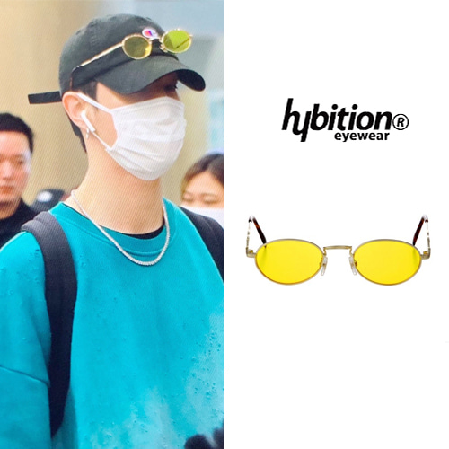 [HYBITION] LEGACY C GOLD YELLOW TINT LENS_GOT7