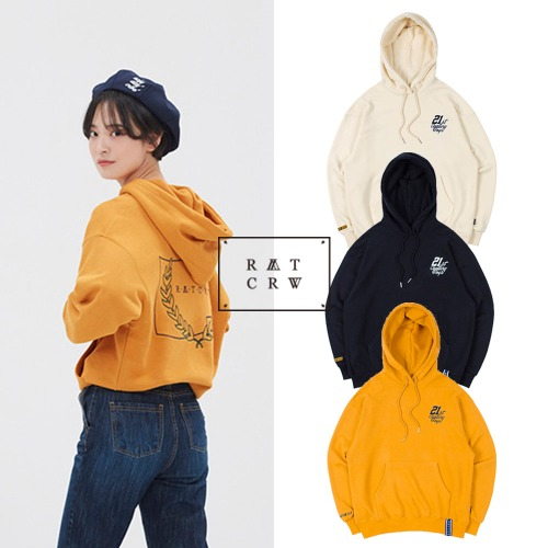 [ROMANTICCROWN] 21C BOYS RMTCRW LOGO HOOD 3COLOR