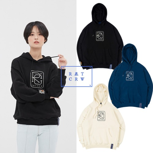 [ROMANTICCROWN] RC BIG LOGO HOOD 3COLOR
