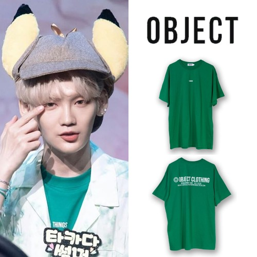 [OBJECT] |THINGS T-SHIRT GREEN_JBJ95