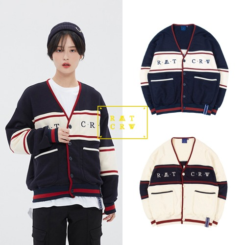 [ROMANTICCROWN] 21C BOYS COTTON CARDIGAN 2COLOR