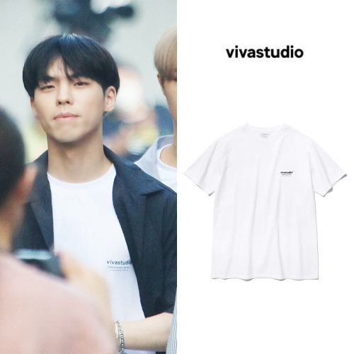 [VIVASTUDIO]LOCATION LOGO SHORT SLEEVE IS_CIX