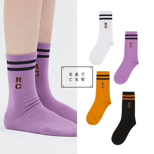 [ROMANTICCROWN] 21C BOYS COLOR SOCKS
