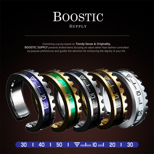 [BOOSTIC] SUBMARINER RING BST30 7COLOR