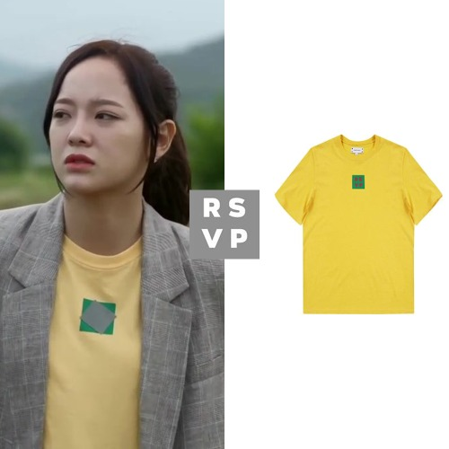 [RSVP] BOX LOGO SLIM FIT T-SHIRT_GUGUDAN