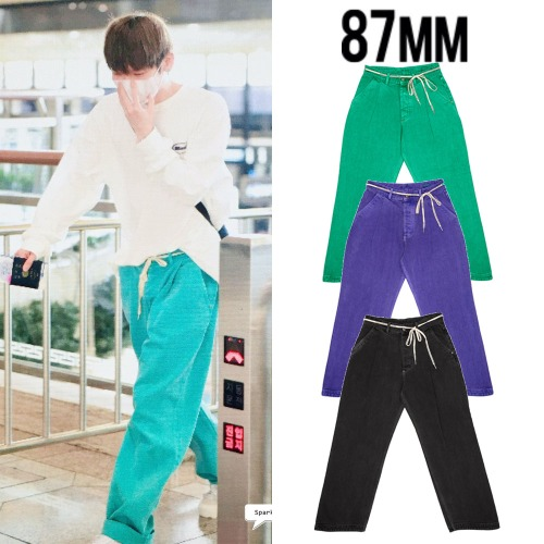 [87MM] PIGMENT WAVE JEANS 3COLOR_JBJ95